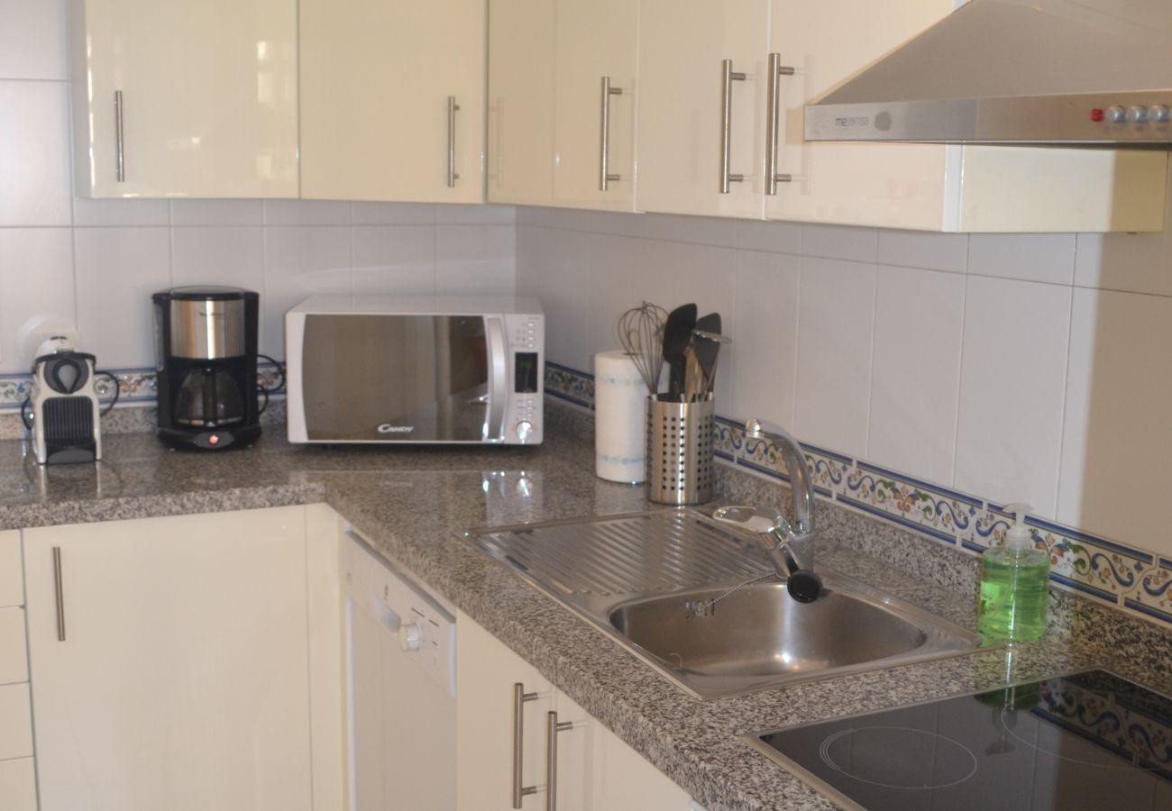 ZapHoliday - 2115 - alquiler de apartamentos en Manilva, Costa del Sol - cocina