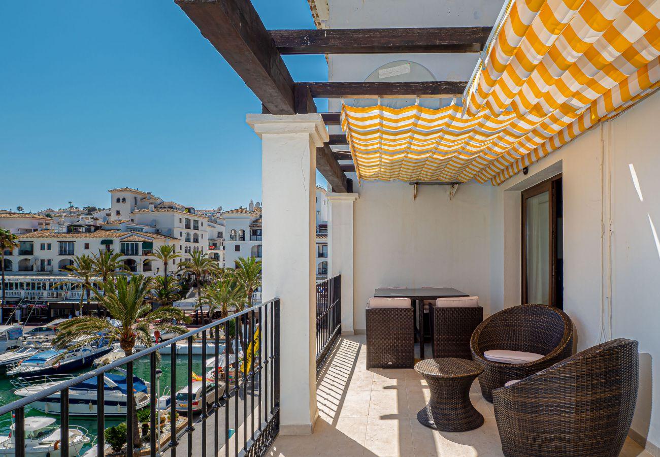 Zapholiday - 2001 - Apartamento Puerto de la Duquesa, Costa del Sol - terraza