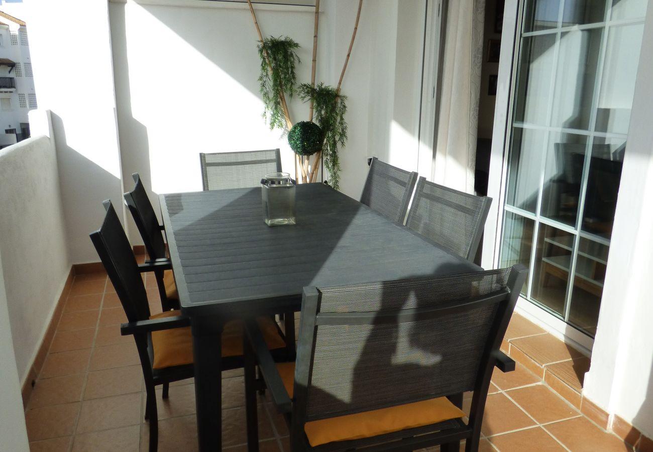 Zapholiday - 2189 - Sabinillas - alquiler de apartamento - terraza