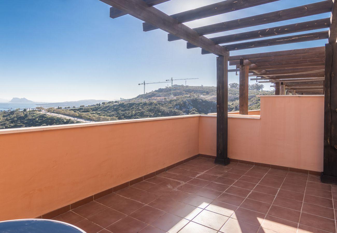 Zapholiday - 2020 - Alquiler de vacaciones apartamento - Manilva - terraza