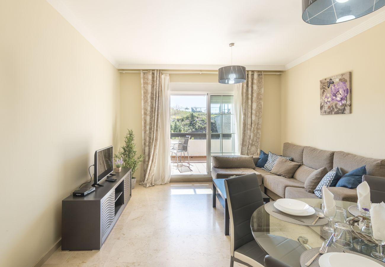 Zapholiday - 2197 - Alquiler de vacaciones apartamento Manilva - sala de estar