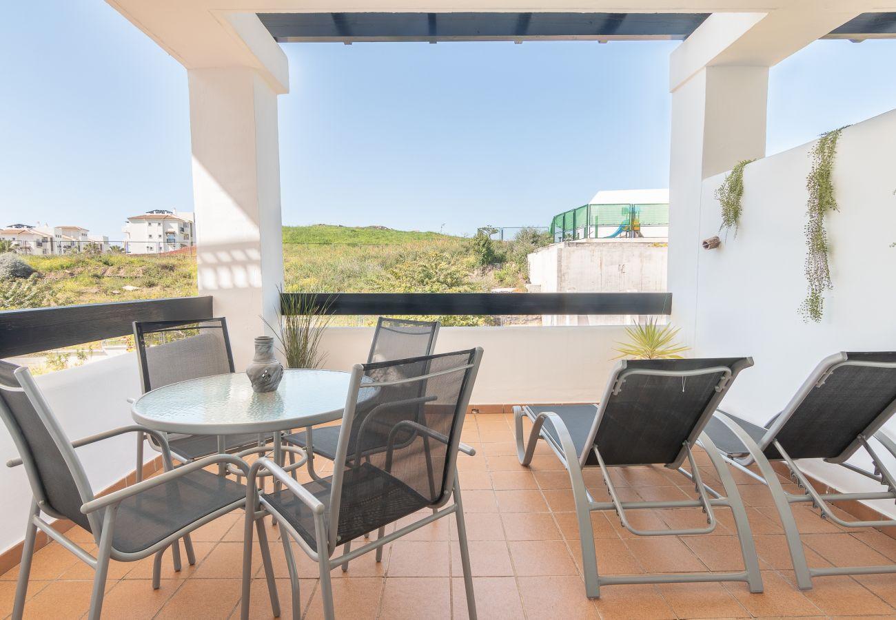Zapholiday - 2197 - Alquiler de vacaciones apartamento Manilva - terraza