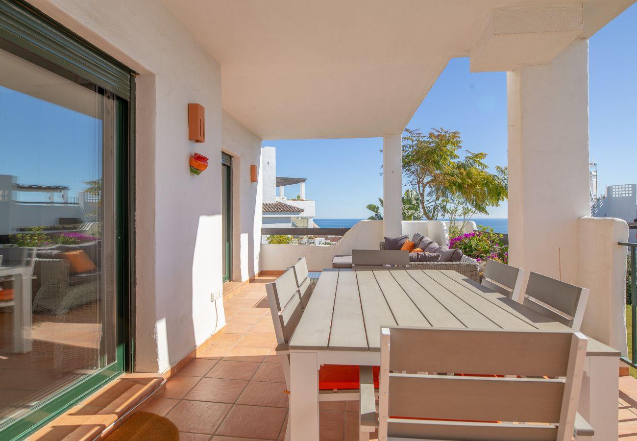 Zapholiday - 2193 - alquiler de apartamentos Casares - vista al mar