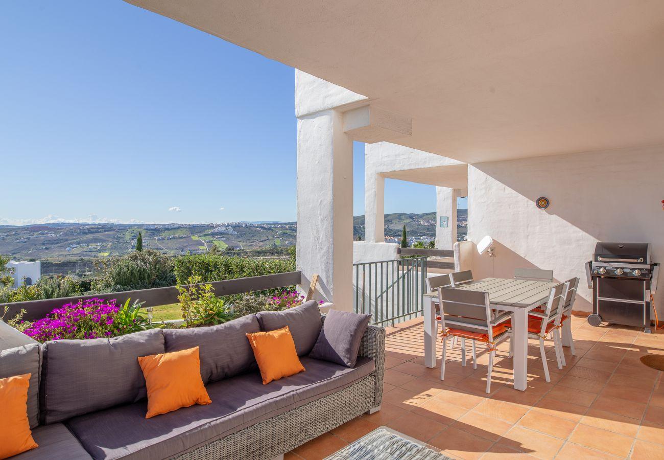 Zapholiday - 2193 - alquiler de apartamentos Casares - terraza