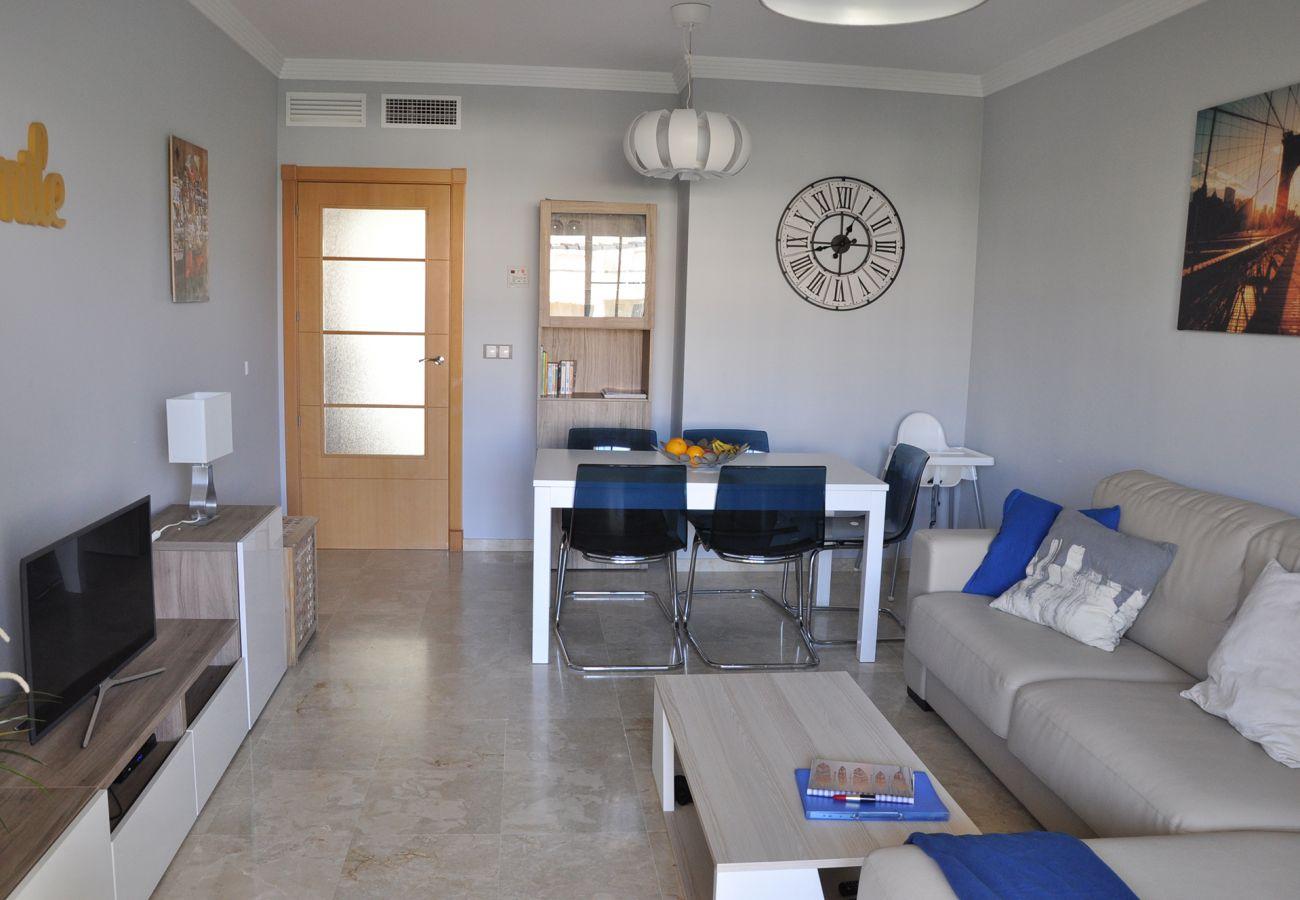 Zapholiday - 2201 - Alquiler de vacaciones apartamento Manilva - salon