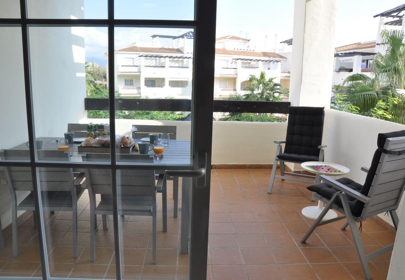 Zapholiday - 2201 - Alquiler de vacaciones apartamento Manilva - terraza