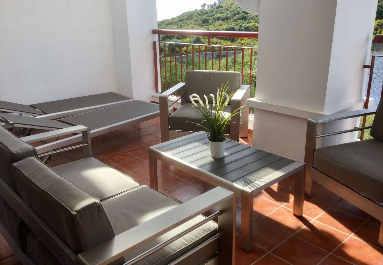Zapholiday - 2202 - Alquiler de vacaciones apartamento Alcaidesa - terraza