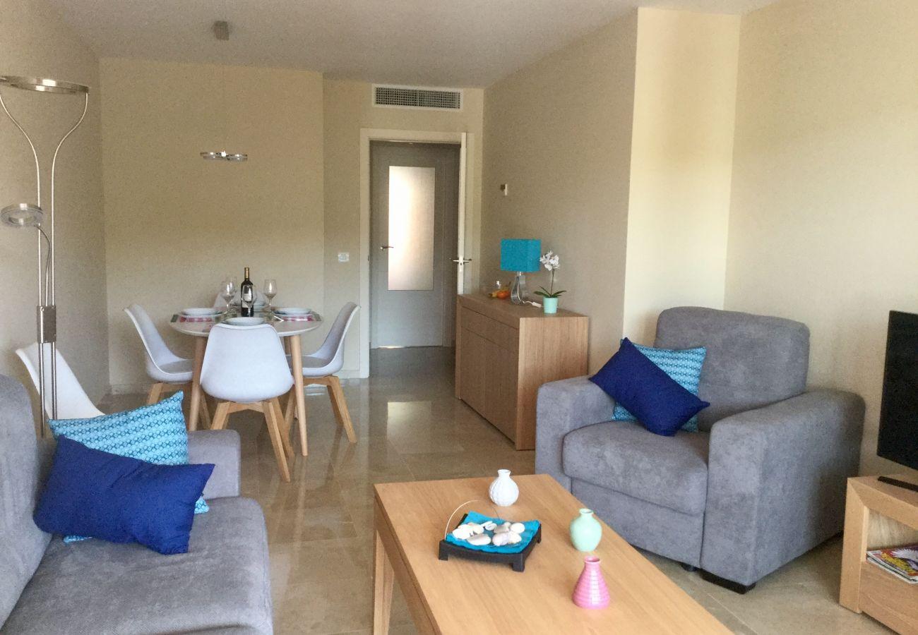 Zapholiday - 2202 - Alquiler de vacaciones apartamento Alcaidesa - salon
