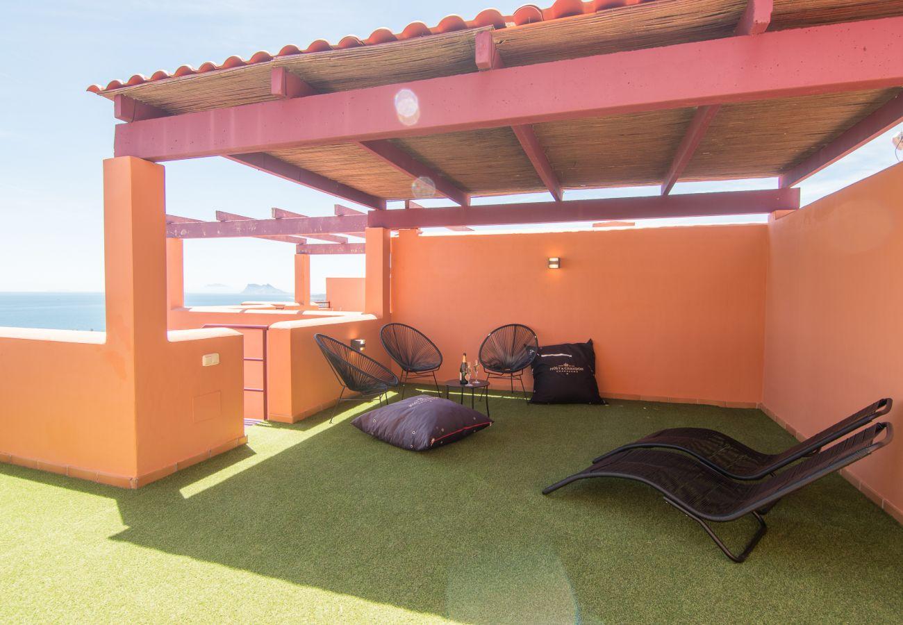Zapholiday - 2205 - Alquiler de vacaciones apartamento  Manilva - terraza