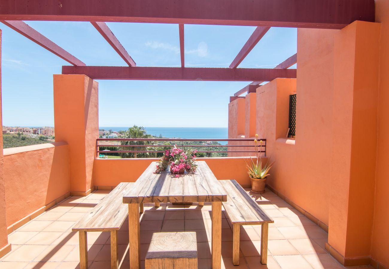 Zapholiday - 2205 - Alquiler de vacaciones apartamento  Manilva - vista al mar
