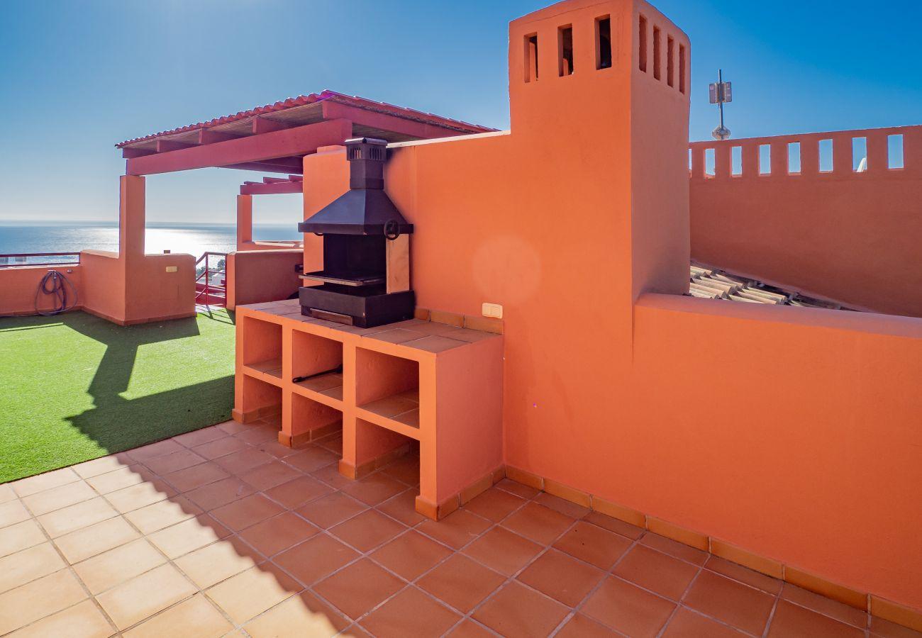 Zapholiday - 2205 - Alquiler de vacaciones apartamento  Manilva -barbacoa