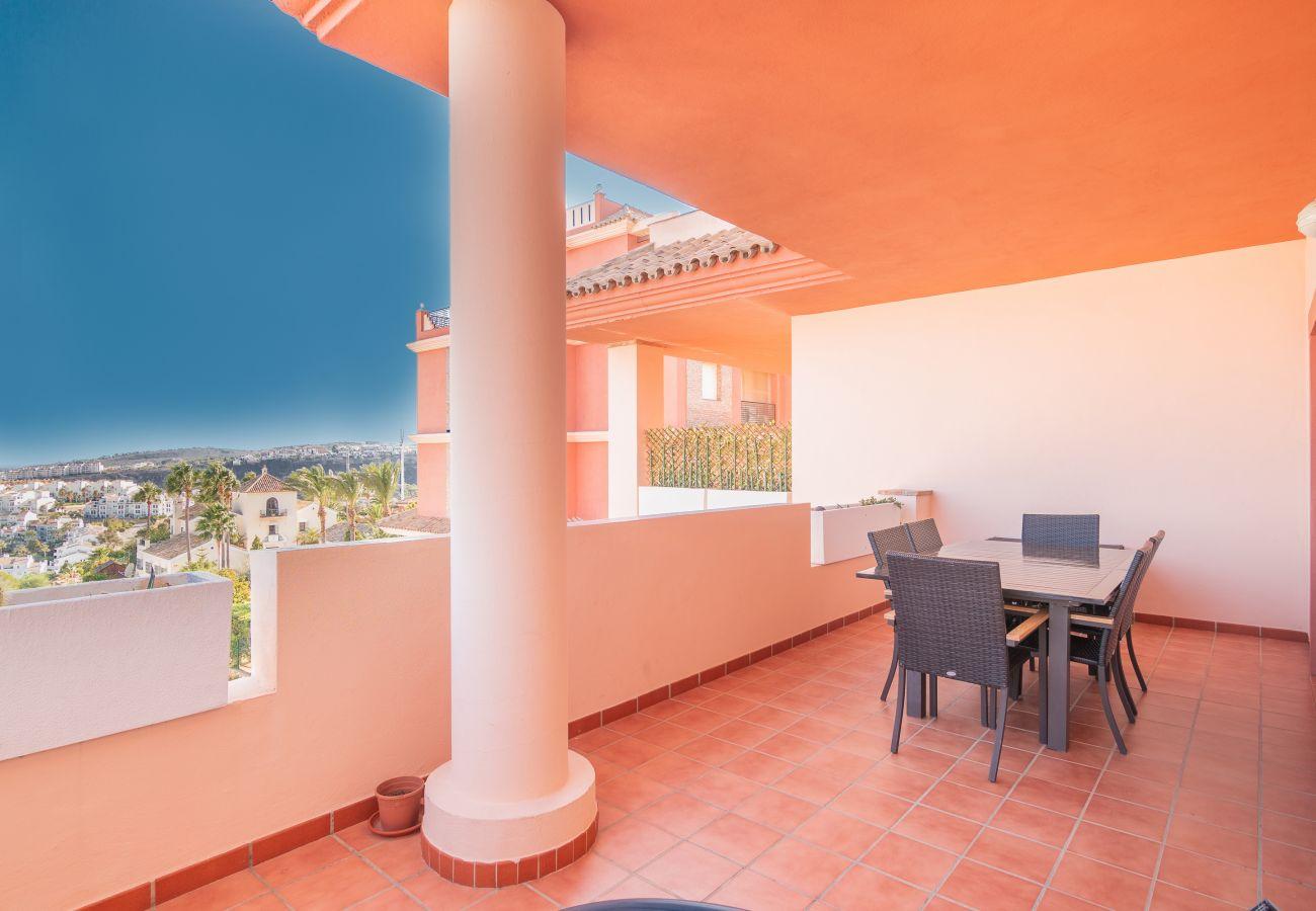 Zapholiday - 2211 - apartamento de vacaciones la Duquesa - terraza