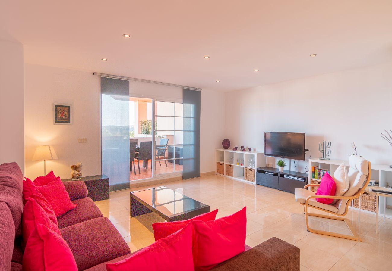 Zapholiday - 2211 - apartamento de vacaciones la Duquesa - salon