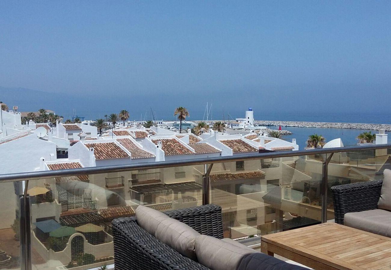 Zapholiday - 2218 - apartamento de vacaciones la Duquesa - terraza