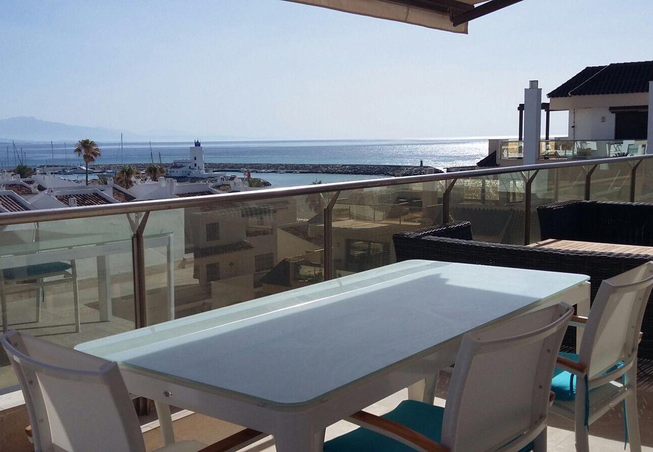 Zapholiday - 2218 - apartamento de vacaciones la Duquesa - vista al mar
