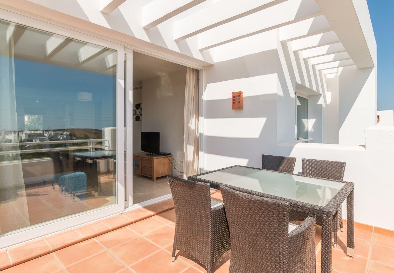 Zapholiday - 2214 - Estepona apartamento de vacaciones - terraza