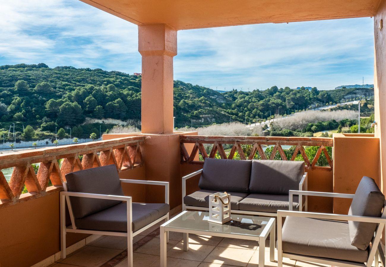 Zapholiday - 2225 - Alquiler de vacaciones apartamento Casares - terraza