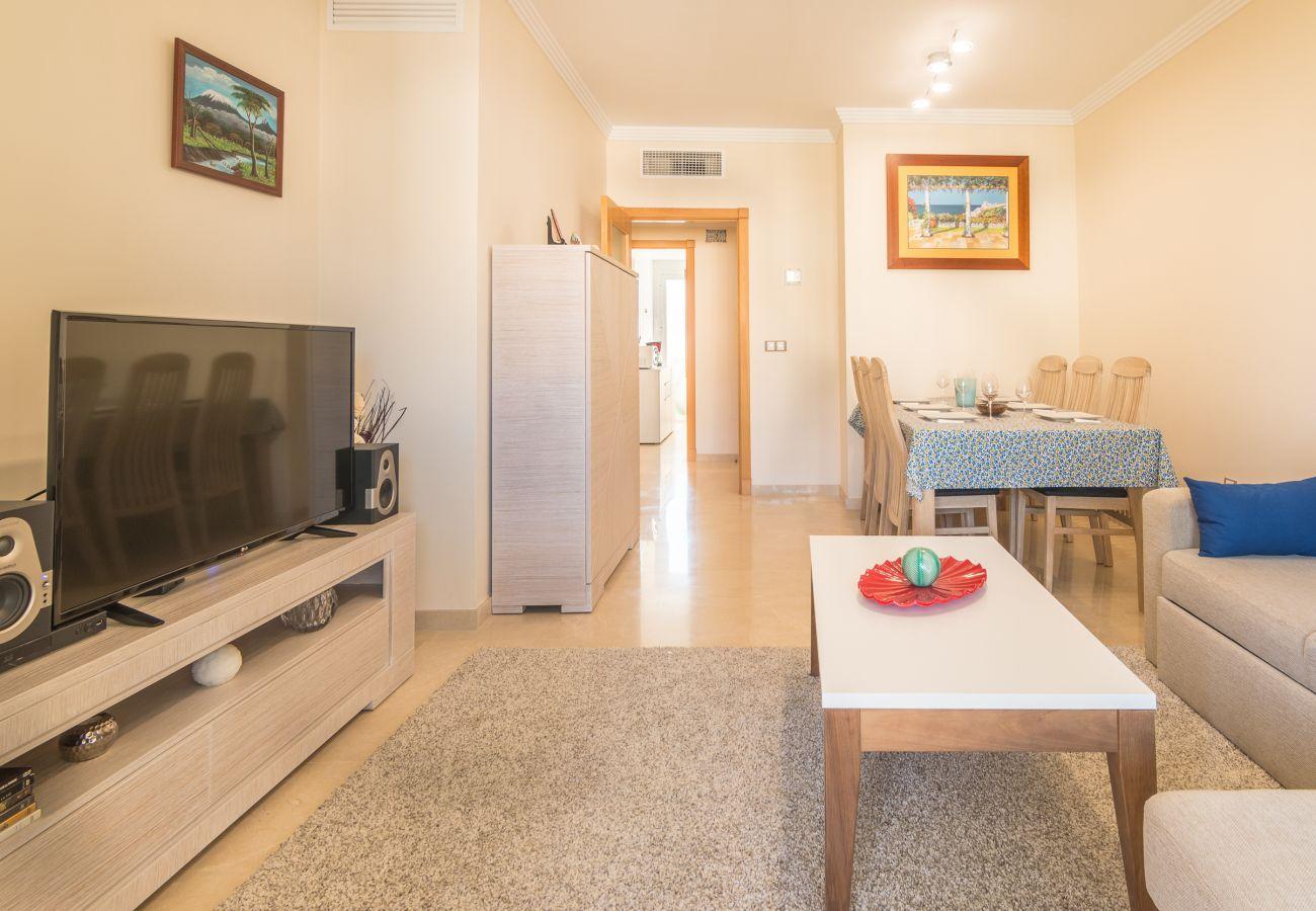 Zapholiday - 2222 - Alquiler de vacaciones apartamento Manilva - sala de estar