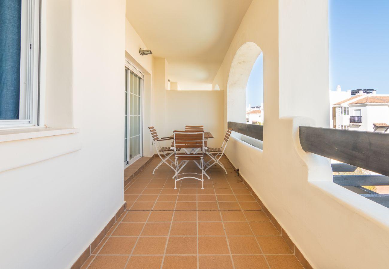 Zapholiday - 2222 - Alquiler de vacaciones apartamento Manilva - terraza