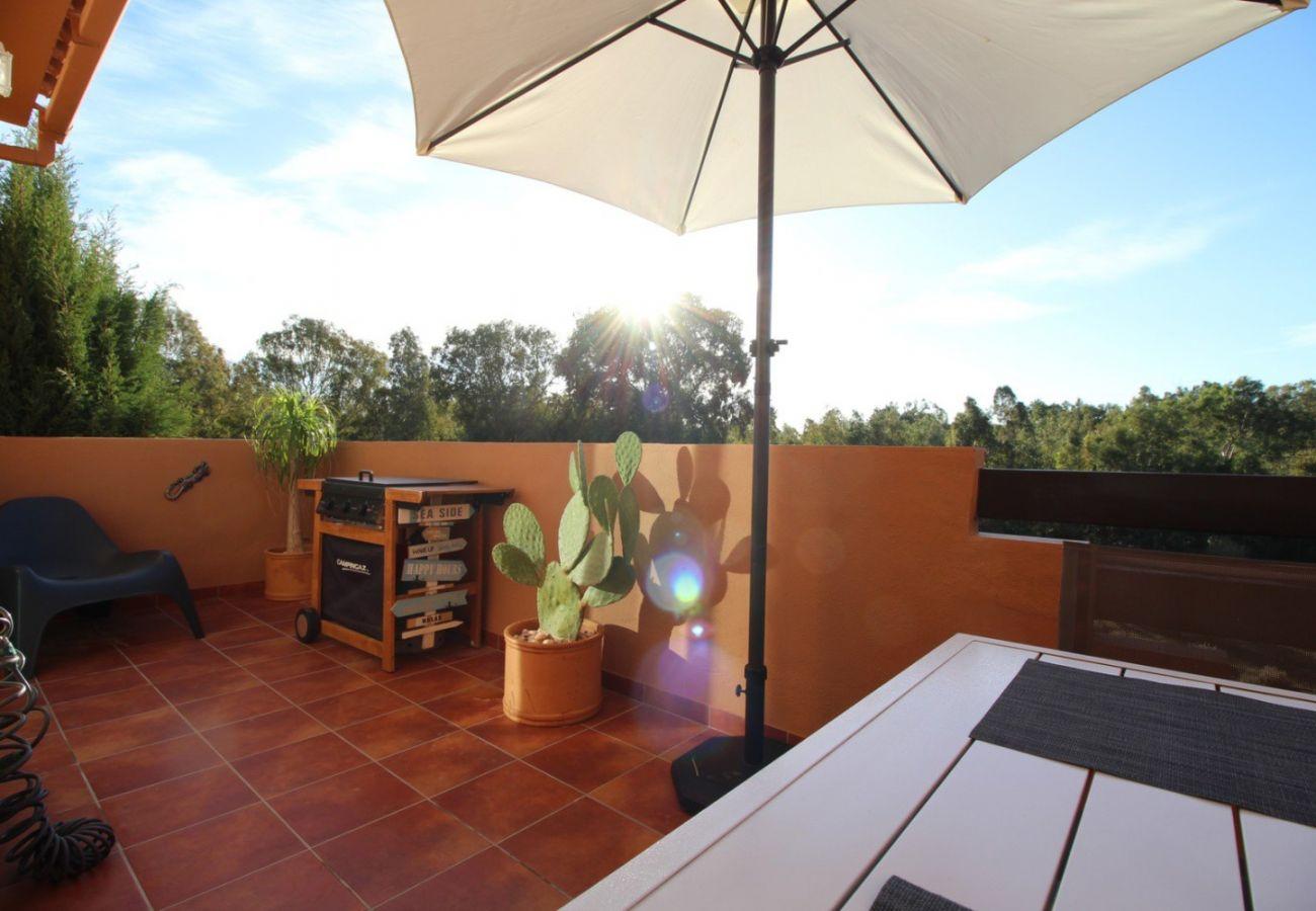 Zapholiday - 2231 - Alquiler de vacaciones apartamento Casares - terraza barbacoa