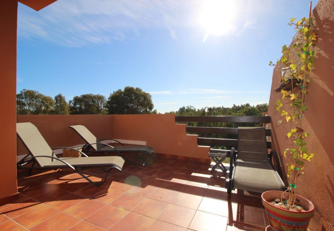 Zapholiday - 2231 - Alquiler de vacaciones apartamento Casares - terraza