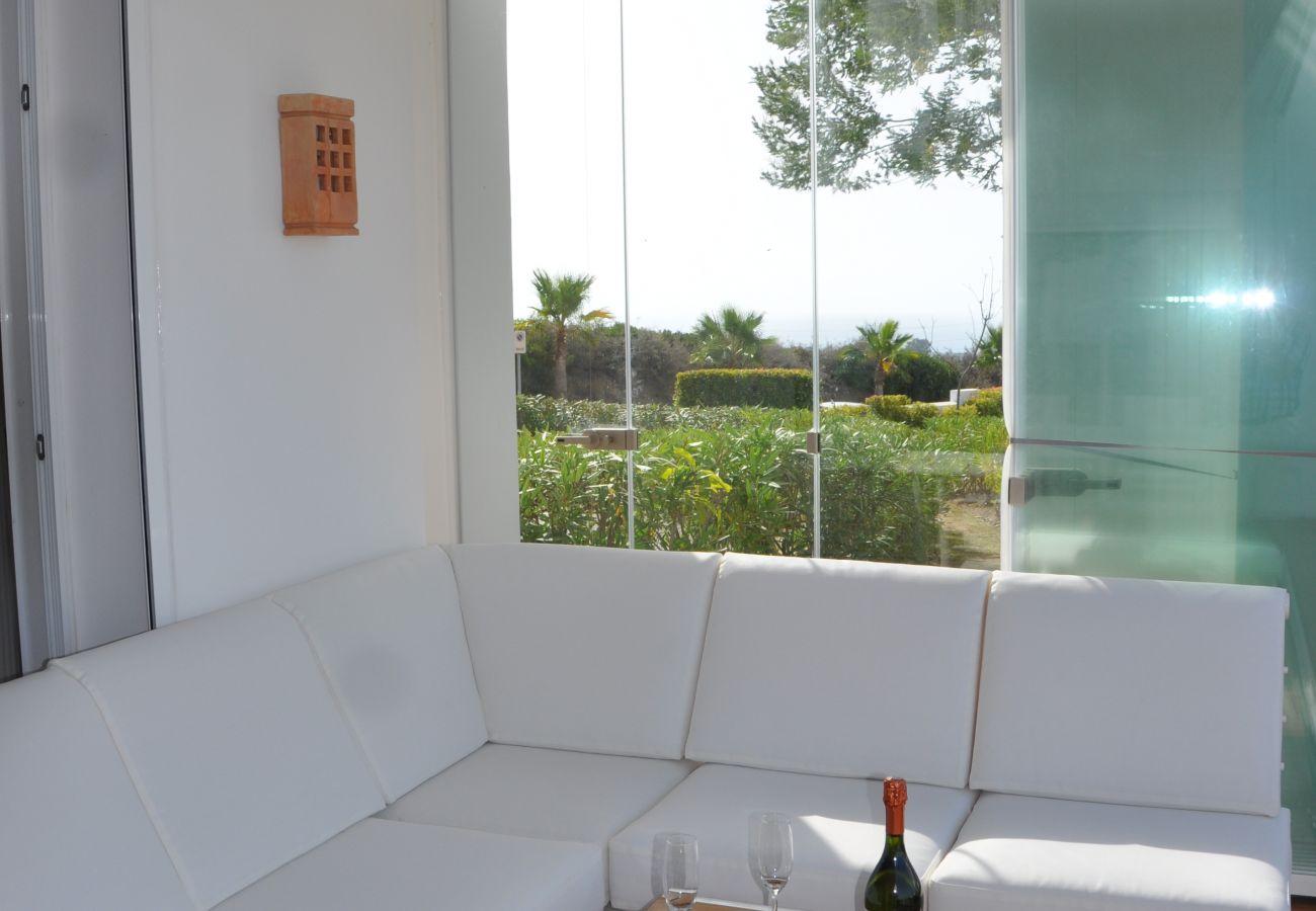 Zapholiday - 2221 - Estepona apartamento de vacaciones - terraza
