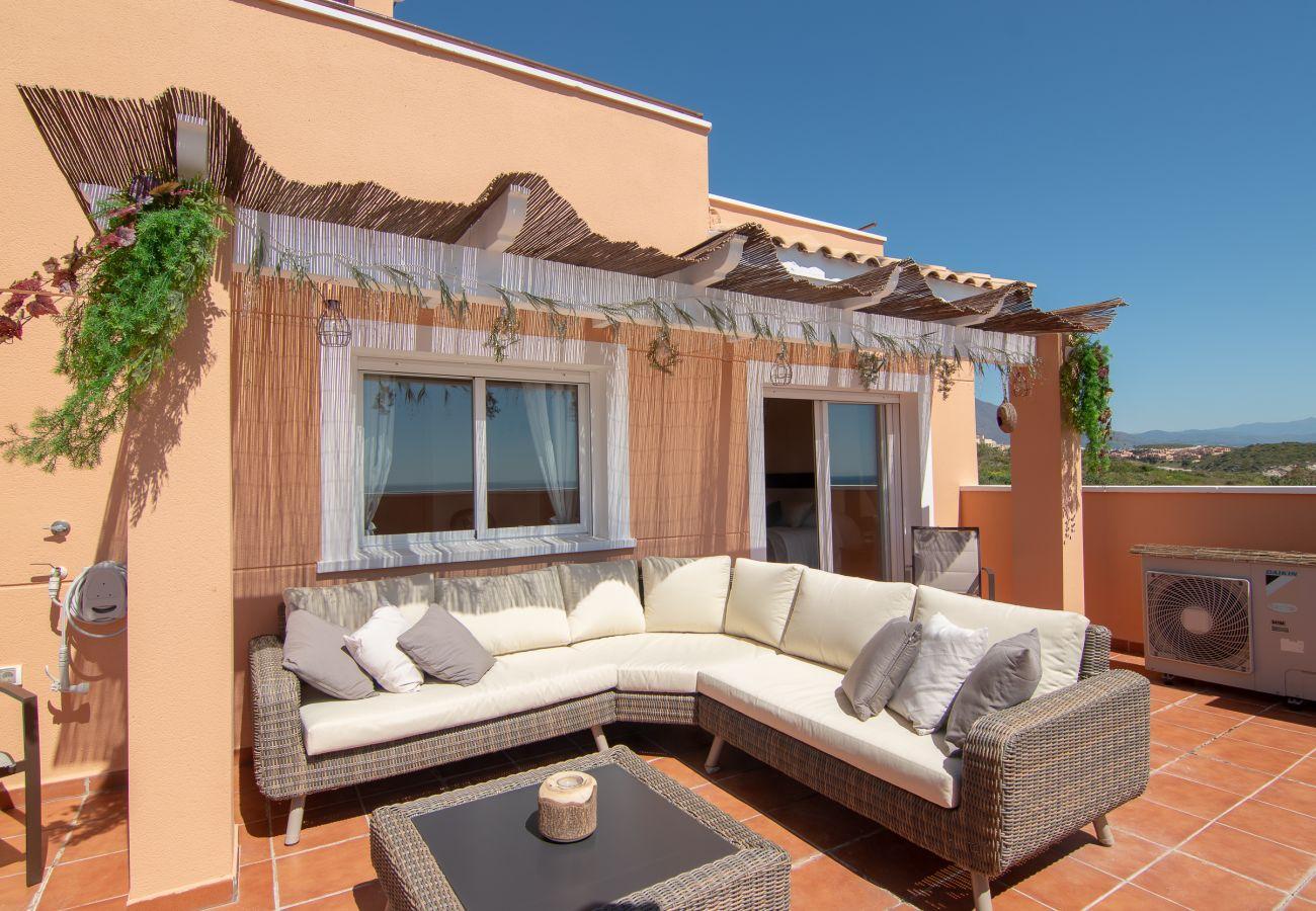 Zapholiday - 2242 - Alquiler de vacaciones apartamento Casares - terraza