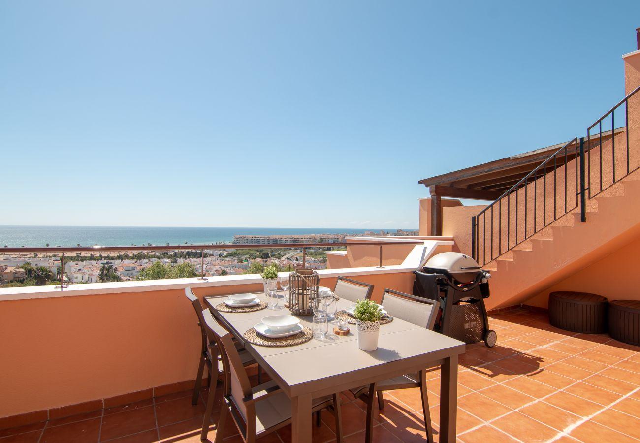 Zapholiday - 2242 - Alquiler de vacaciones apartamento Casares - vista al mar