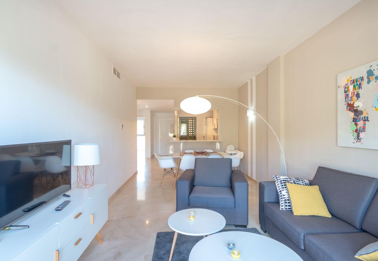 Zapholiday - 2244 - Alquiler de vacaciones apartamento - Manilva - sala de estar