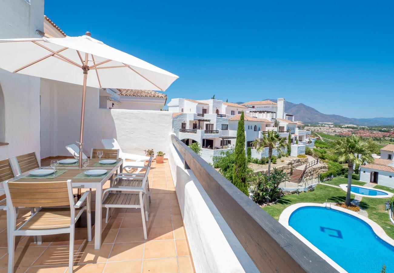 Zapholiday - 2246 - Alquiler de vacaciones apartamento Casares - piscina