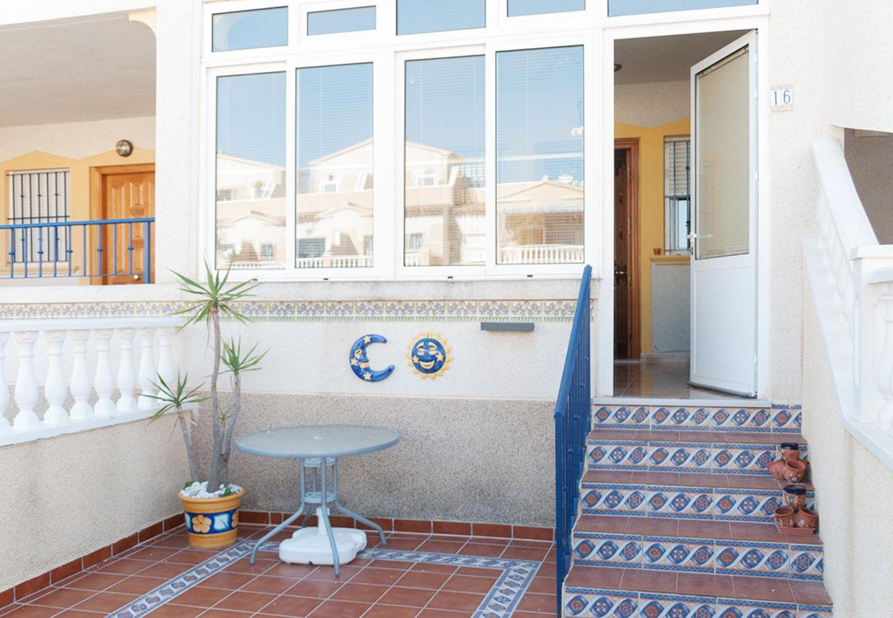 Zapholiday - 3001- apartamento de alquiler Orihuela Costa - terraza