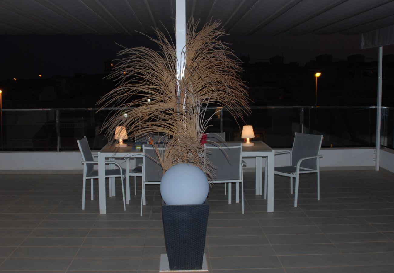 Zapholiday  -  3011  -  Orihuela Costa apartamento, Costa Blanca  –  terraza