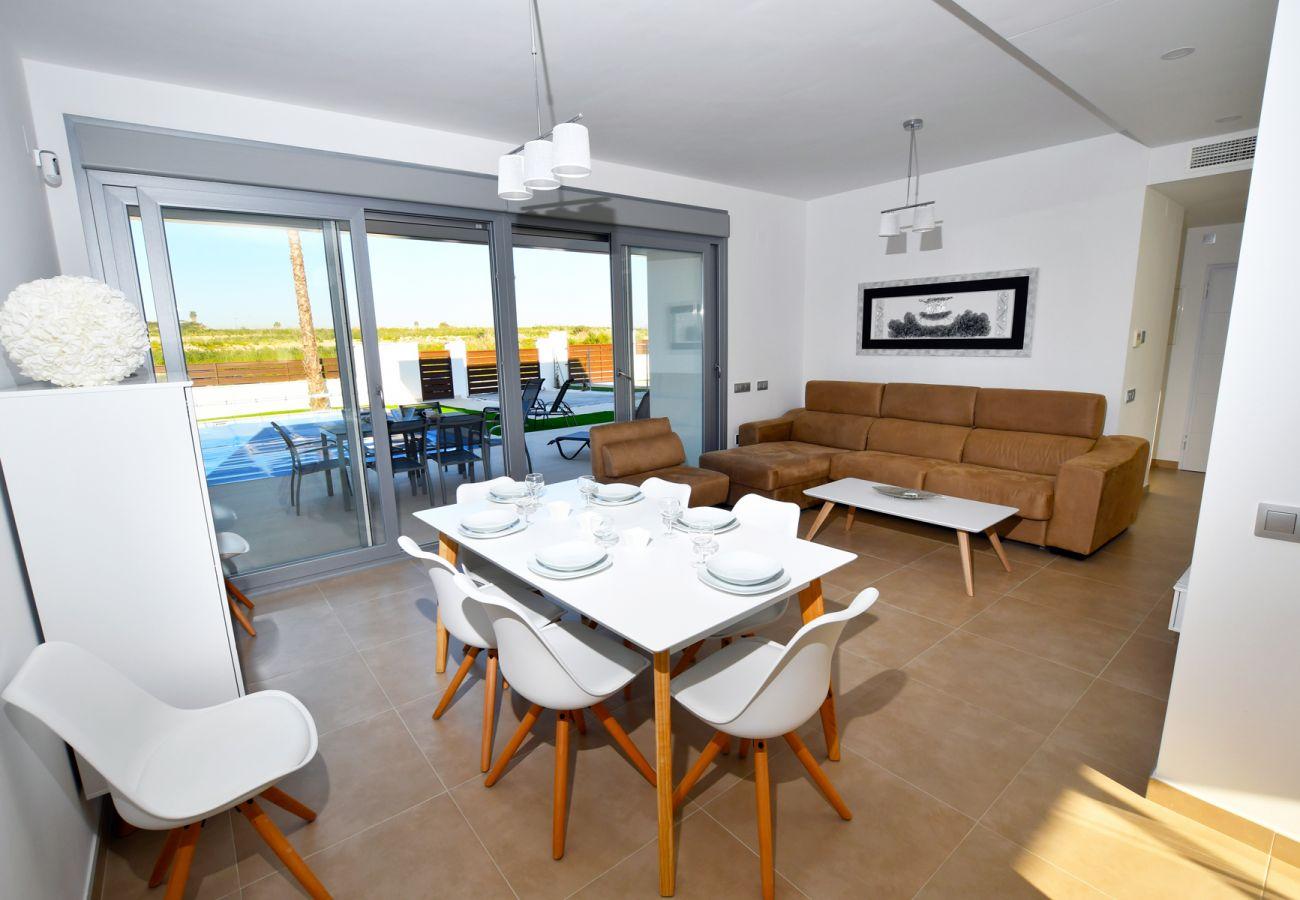 Zapholiday - 3021 - villa Orihuela, Alicante - salón