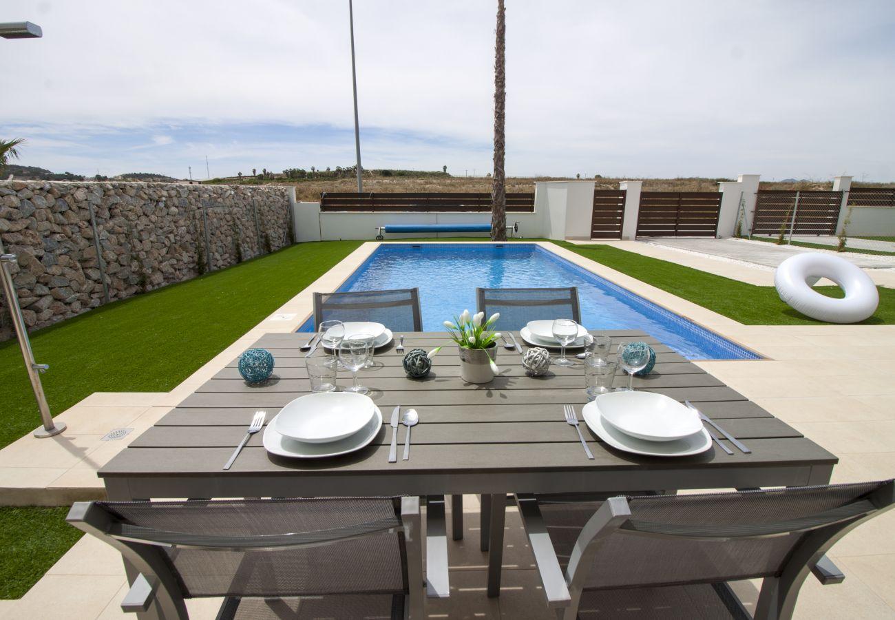Zapholiday - 3021 - villa Orihuela, Alicante - terraza