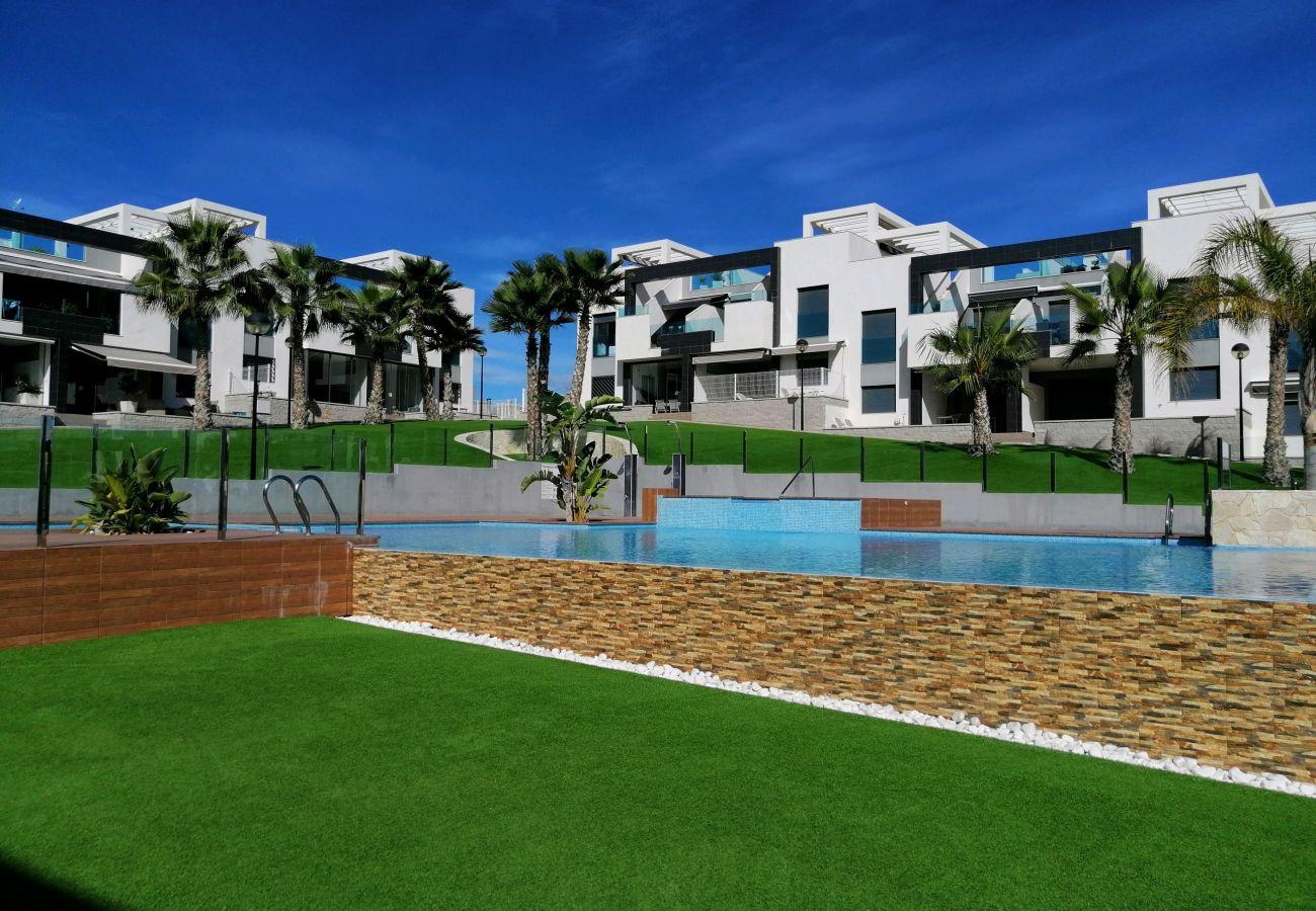 Zapholiday  –  3023  -  Appartamento Punta Prima, Costa Blanca  –  piscina