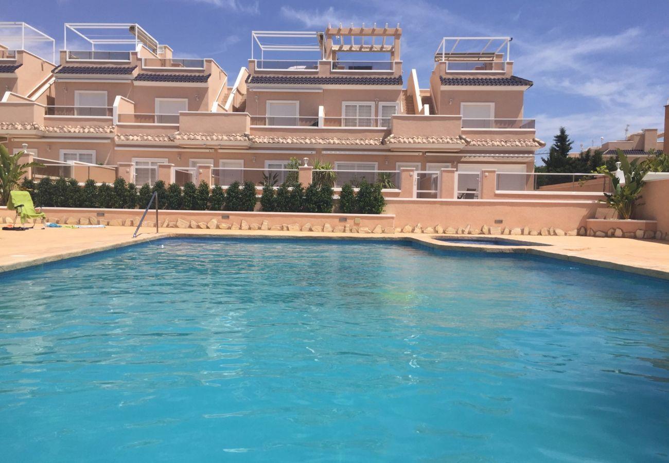 Zapholiday - 3027 - apartamento Torre de la Horadada, Costa Blanca - piscina