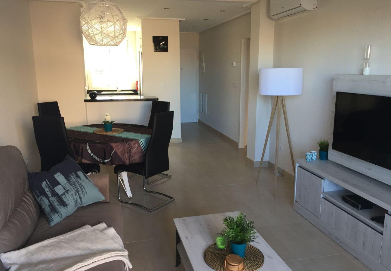 Zapholiday - 3027 - apartamento Torre de la Horadada, Costa Blanca - sala de estar