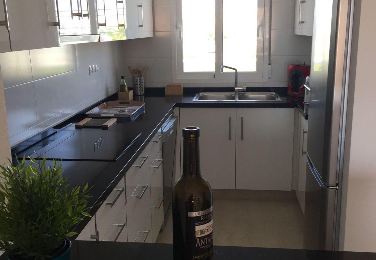 Zapholiday - 3027 - apartamento Torre de la Horadada, Costa Blanca - cocina