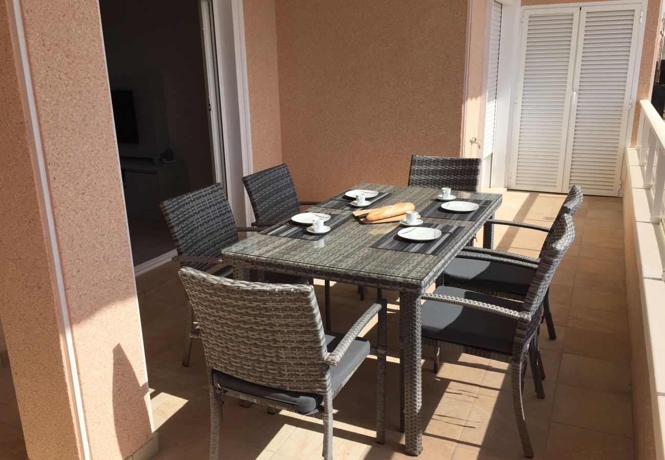 Apartamento en Torre de la Horadada - 3027 Vista Azul,close to the beach &  heated pool