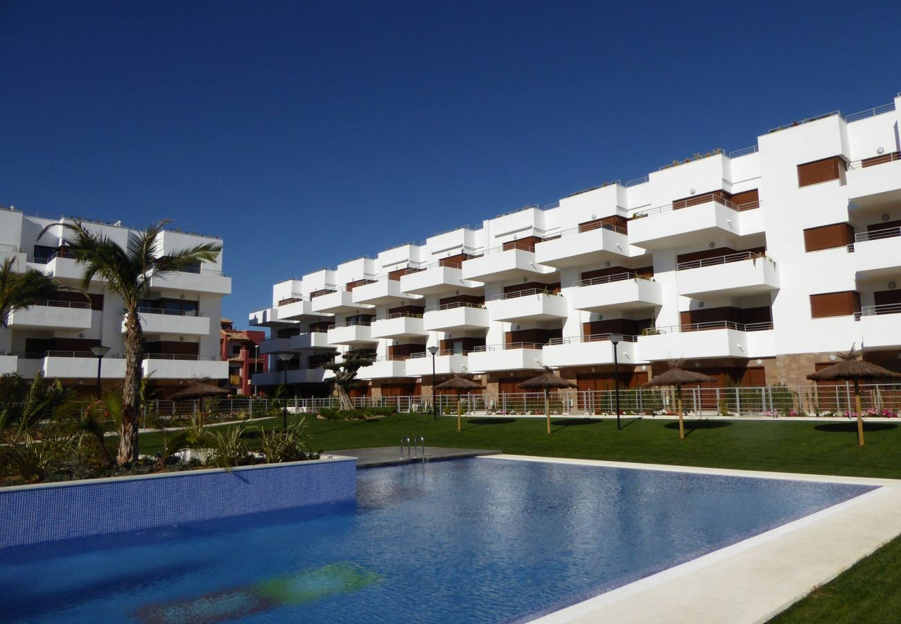 Zapholiday - 3029 - Orihuela Costa penthouse, Costa Blanca - piscina
