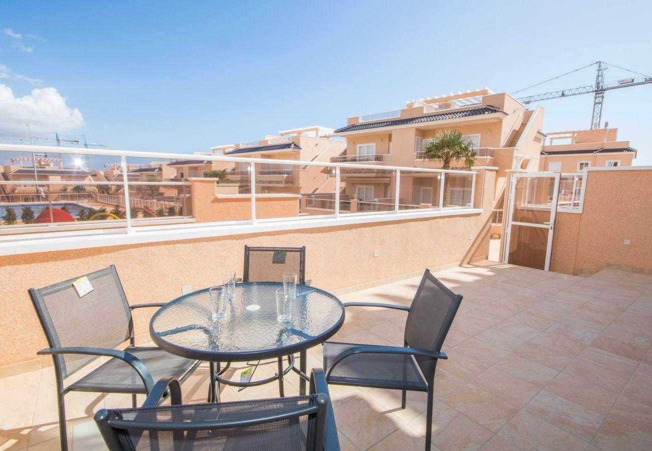 Zapholiday  –  3049  -  appartement Punta Prima, Costa Blanca  –   terraza