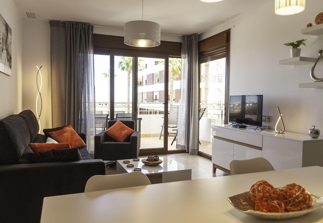 Zapholiday - 3056 - apartamento Terrazas de Campoamor, Costa Blanca - sala de estar