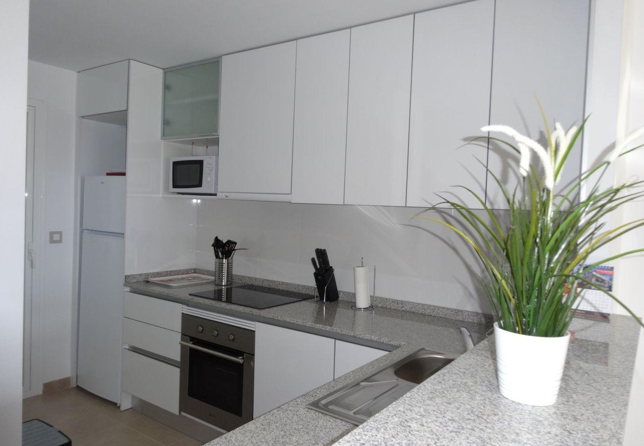 Zapholiday - 3056 - apartamento terrazas de campoamor, costa blanca - cocina