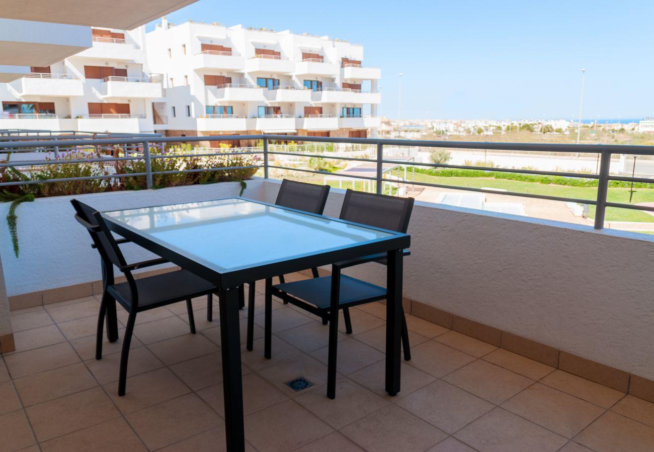 Zapholiday - 3056 - apartamento Terrazas de Campoamor, Costa Blanca - terraza