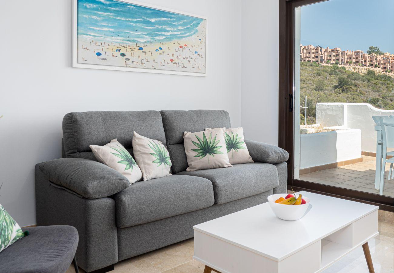 Zapholiday - 2290 - alquiler de apartamentos La Duquesa, Costa del Sol - salón