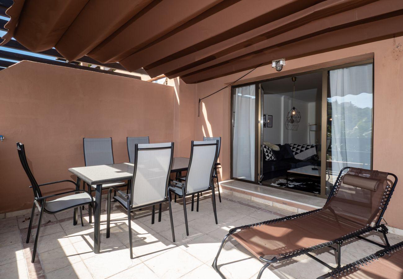 Zapholiday - 2297 - apartamento Casares, Costa del Sol - terraza